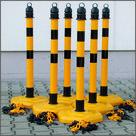 Set-Klantengeleiding-geel-zwart