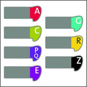 Alfabetset Curvo White- & Blackbox