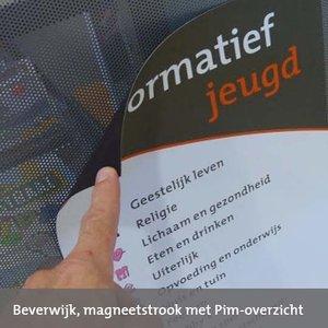 Signing op magneetfolie