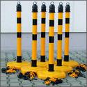 Klantengeleiding-geel-zwart